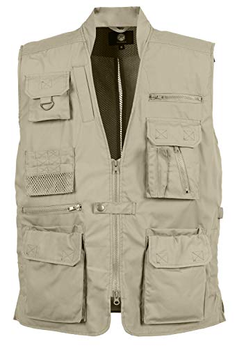 Rothco Plainclothes Concealed Carry Vest, Khaki, Large