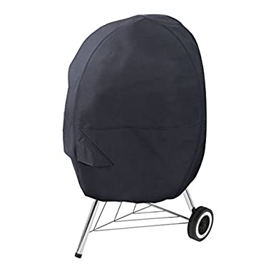 AmazonBasics Charcoal Kettle Grill Cover - Black