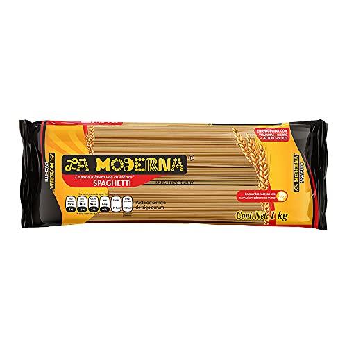 La Moderna SPAGHETTI LA MODERNA 1 Kg, Spaghetti, 450 gramos