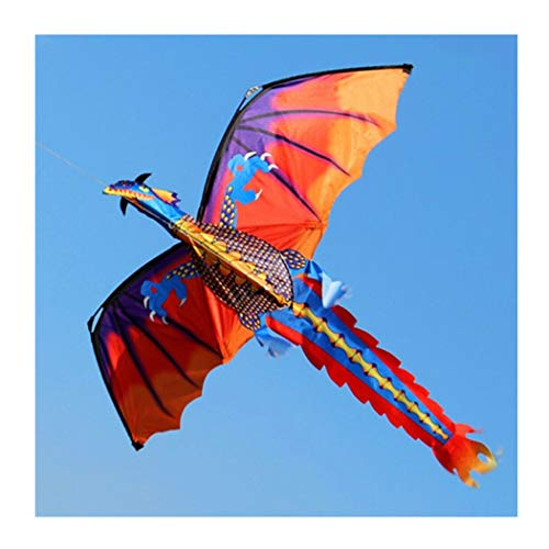 Ashopfun - Drachen in Bunt, Größe 120 * 140 cm / 47,24 * 55,12 Zoll