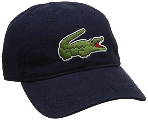 Lacoste RK8217 Gorra de béisbol, Azul (Marine), Talla única (Talla del Fabricante:...