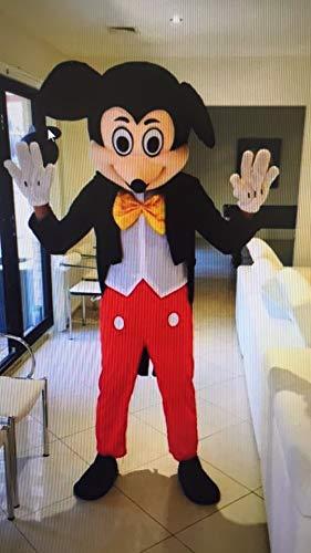 Topolino Mouse Adulto Mascotte Costume Travestimento Outfit