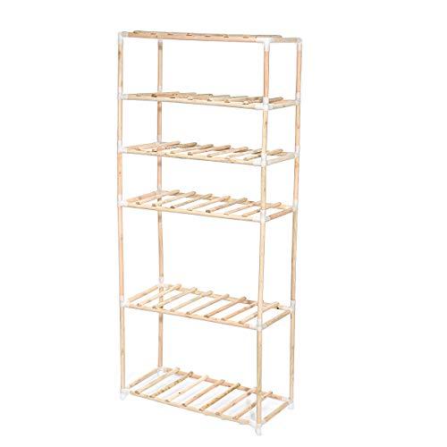 xingxing Storage & Organization - Estante de madera para libros de jardín con 6 niveles para interiores y exteriores