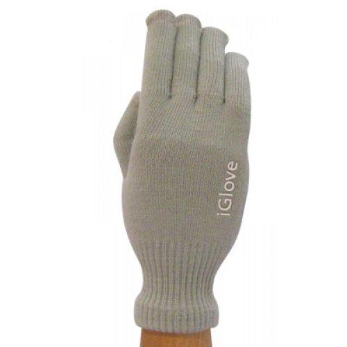 iGlove Unisex Touchscreen-Handschuhe – Smartphones/Tablets/Navigationsgeräte – 5 Spitzen (grau)