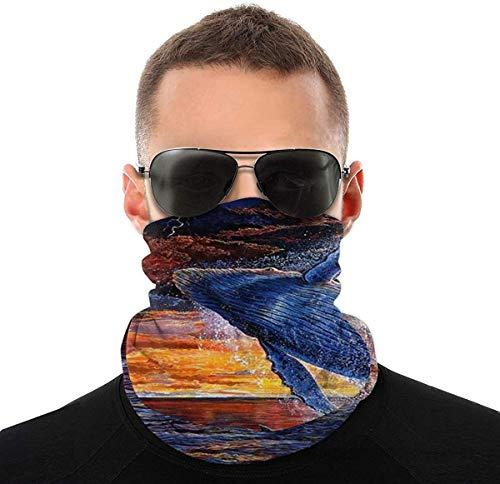 Sturmhaube Gesicht Kopftuch, Sonne UV Winddicht Einhorn Bandana Schweißband Nahtlose Sunmmer Abdeckung für...