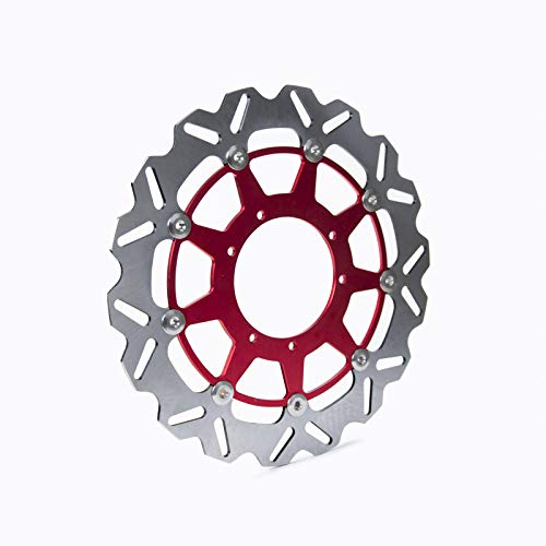 Super1Six Motorcycle 320mm Frontal Disc Rotor para CR125E CR125R CR250R CRF250R CRF250X CRF450R CRF450X CR500E CR500R SUPERMOTARD