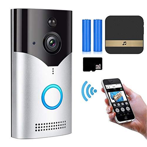 Smart Peephole Doorbell, 1080P HD Wireless Video Doorbell Camera with...