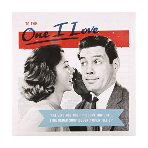 Verjaardagskaart voor One I Love From Hallmark - Retro Fotografisch Ontwerp