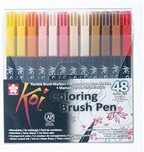 Sakura KOI Coloring Brush Set 48 - Pack de 48 rotuladores,