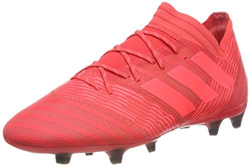 Adidas Nemeziz 17.2 FG, Botas de fútbol Hombre, Naranja (Correa/Rojent/Negbas 000), 46 2/3 EU