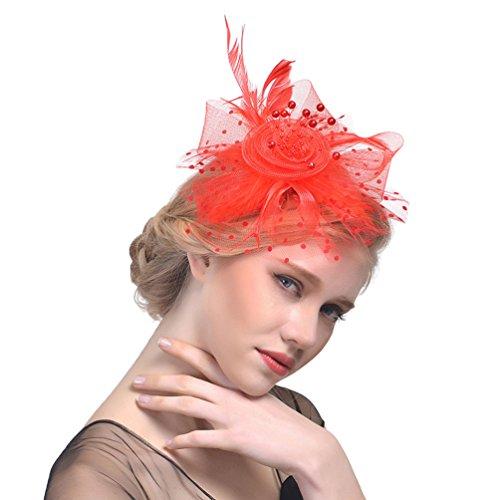 Yujeet Sombreros Y Tocados De Mujer Diadema De Novia Transparente Headwear Para...