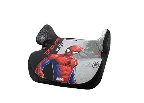 nania Silla de Coche para Bebe Elevador Topo Grupo 2/3 (15-36kg), Spiderman