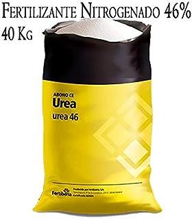 Suinga Fertilizante NITROGENADO UREA 46%, Saco 40 Kg. Utilizado en Cualquier Tipo de Cultivo. MÁXIMA Calidad.