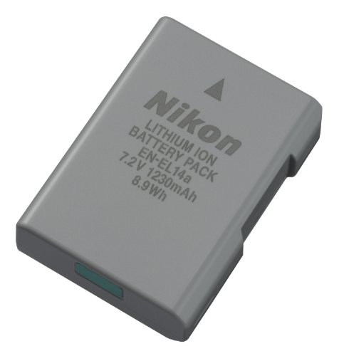 ニコン デジタル一眼レフ Dシリーズ 用充電式バッテリー EN-EL14A 1個