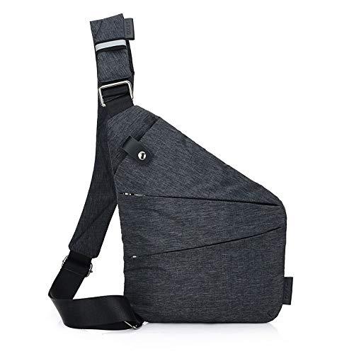 HVTKL Merk mannen Travel Business Fino Bag inbraakwerende schoudertas diefstalbeveiliging riem Digital Storage borstzakken HVTKL