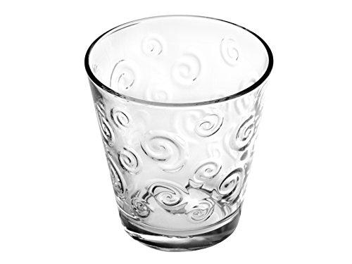 Home Move Bicchieri Acqua, Vetro, Trasparente, 3 Pezzi