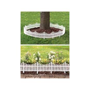 Amazon Com Flexible Fence 4 Piece Set Outdoor Decorative