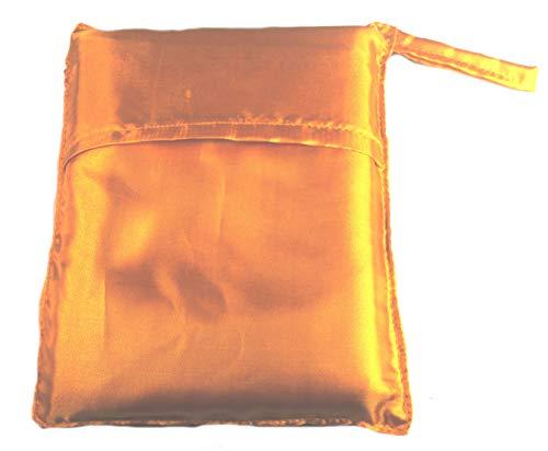 Terrapin Trading Vietnam 1217 Sac de couchage en soie pour lit simple Jaune/doré