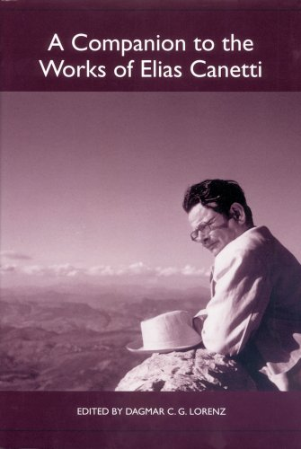 A Companion to the Works of Elias Canetti: 36