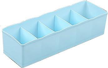Tenders Pudełko do przechowywania, 2, tworzywo sztuczne, podzielone, jednokolorowe pudełko do przechowywania, odpowiednie ...