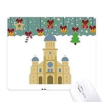 韓国のランドマーク教会 ゲーム用スライドゴムのマウスパッドクリスマス