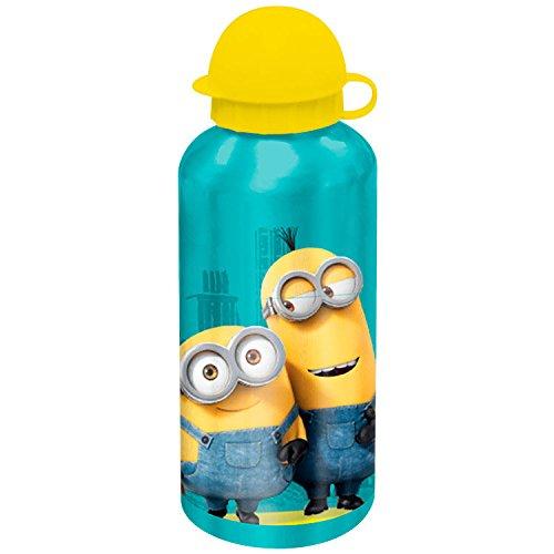 KIDS LICENSING Alu-Trinkflasche Minions sortiert