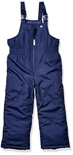 Carter's Girls' Toddler Snow Bib Ski Pants Snowsuit, Current Navy, 2T