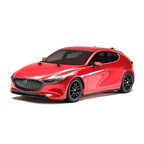 Tamiya TT-02 Mazda 3 Brushed 1:10 Automodello Elettrica Auto stradale 4WD In kit da costruire