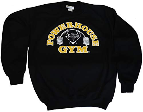 Powerhouse Gym PH801 Sweatshirt (XL, Black)
