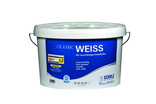 41N zbUjD5L - Schulz Classic Weiss, Innenfarbe, weiß, 10 L