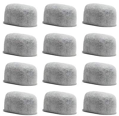 GOLDTONE Replacement Charcoal Water Filter Cartridges for Keurig Classic and 2.0 Coffee Maker Machines (12 PACK)