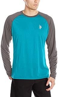 U.S. POLO ASSN. Mens Long Sleeve UPF Swim T-Shirt