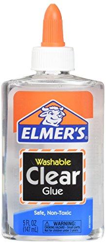 Elmer#039s E305 Washable School Glue 5 oz Bottle 2 Pack Clear