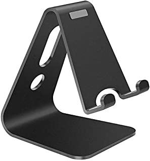Universal Mobile Phone Holder Stand Aluminium Alloy Desk Holder For Phone Charging Stands Cradle Mount For iPhone Support ...