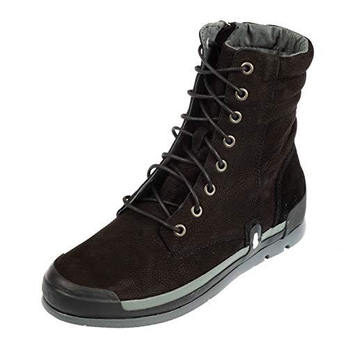 Wolky Comfort Stiefel Adams - 13000 schwarz Nubuckleder - 39