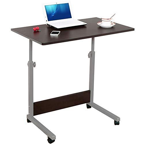 JenLn Student Computer Laptop Desk Altezza Regolabile in Legno da Tavolo Computer Standing Desk Mobile Workstation (Color : Black Walnut, Size : One Size)