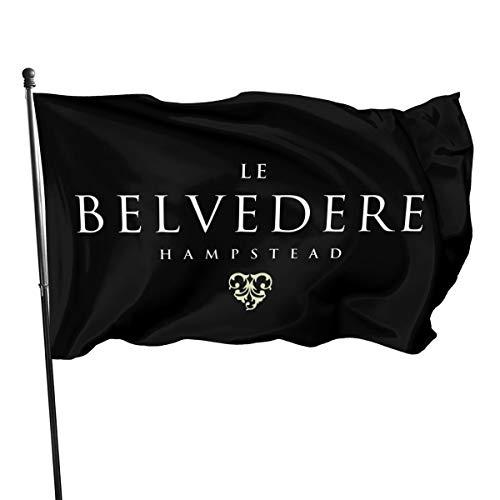 Belvedere Vodka Fahnen/Flagge/Gartenfahne/Dekorativer-Verf¨¹gbar In Allen Jahreszeiten?90 X 150 cm?.