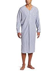 Majestic International Men s Bengal Striped Nightshirt ccfe62e60
