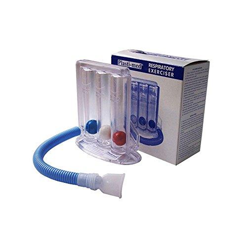 Mobiclinic, Spirometer lungenvolumen, Mobiresp, Europäische Marke, Atemtrainer, Therapieausstattung, Durchsichtig, Lungentrainer, Lichtdurchlässig