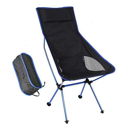 OUTAD silla de camping silla de pesca plegable silla plegable sillas plegables Pesca Exterior Silla silla de jard/ín silla plegable silla de playa con bolsa de transporte hasta 150/kg