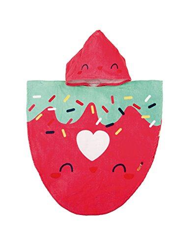 Tuc Tuc 48403, Poncho para Bebé-Niñas, Multicolor (Único), One Size (Tamaño del fabricante:00)