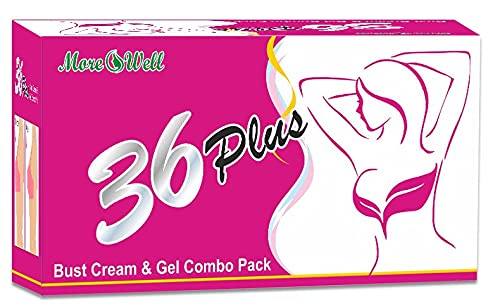 Morewell 36 Plus Bust/Breast Massage Cream & Gel (Combo Pack)