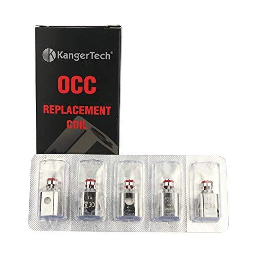 Echt Kangertech OCC 0.5 OHM vertikal ersatzteil spulen v2 (packung mit 5 stück)
