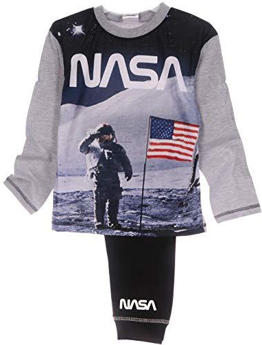 Pyjama NASA Schlafanzug Hose Langarmshirt 104 110 116 122 128 134 140 146 152 (11-12...