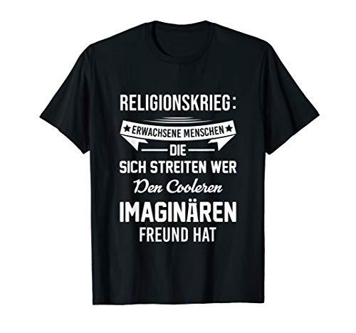 T-Shirt Atheismus Atheist gegen Religionen Kritik Spruch