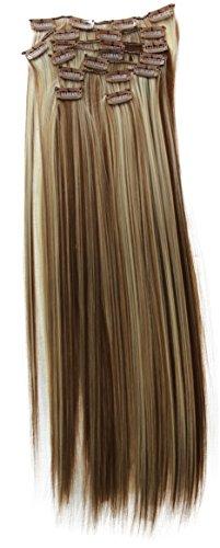 braun blond strähnen