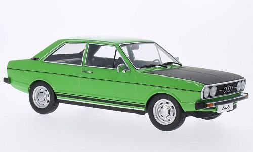 Audi 80 GTE, hellgrün/matt-schwarz, Modellauto, Fertigmodell, KK-Scale 1:18