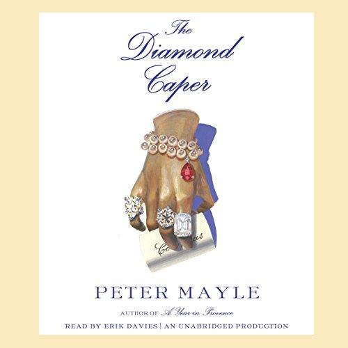 The Diamond Caper audiobook cover art