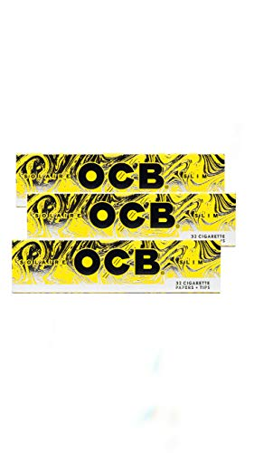 OCB Solaire Papers Slim 3 pack