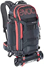 EVOC Trail Builder Backpack   Axe and Chainsaw Backpack Holds Trail Building Tools for Cyclists and Mountain Biking   Black, 30L